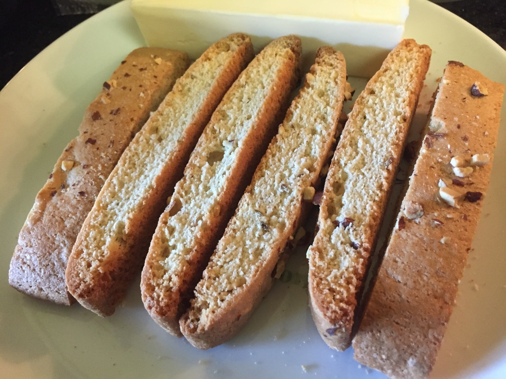 Almond Biscotti Cookies