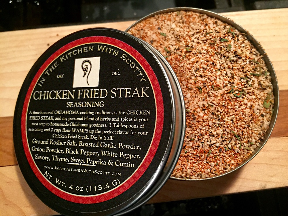 Chicken Fried Steak Seasoning
