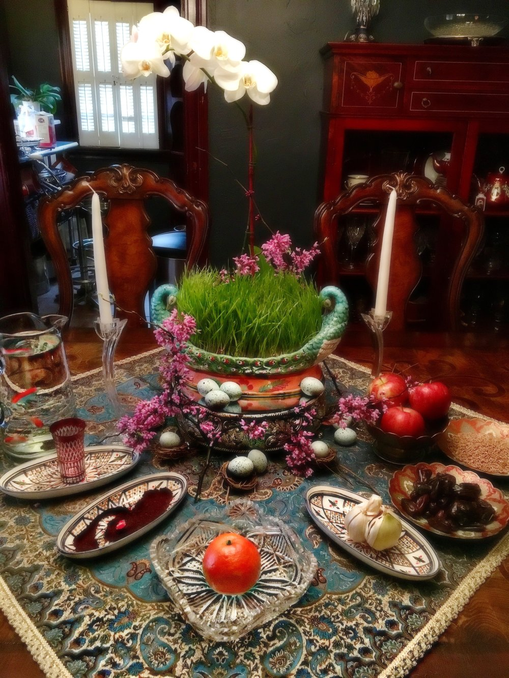 CELEBRATING PERSIAN NEW YEAR THE SOFREH HAFT SEEN