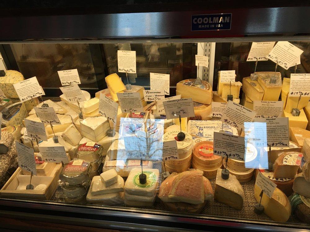 en Croûte   cheese selections.