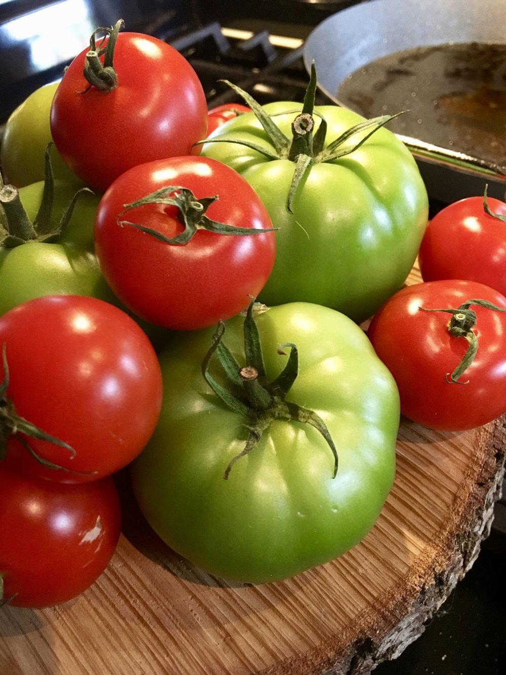 Hydroponic Green Tomatoes from Arctic Farms in Blachard, Oklahoma