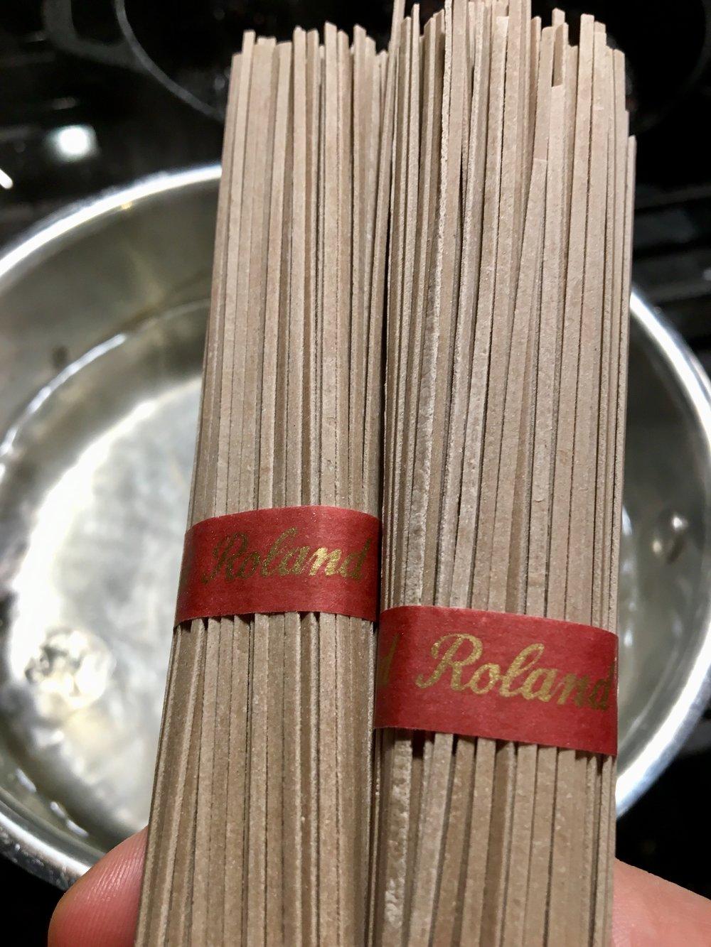 Soba Noodles (Buckwheat Noodles)