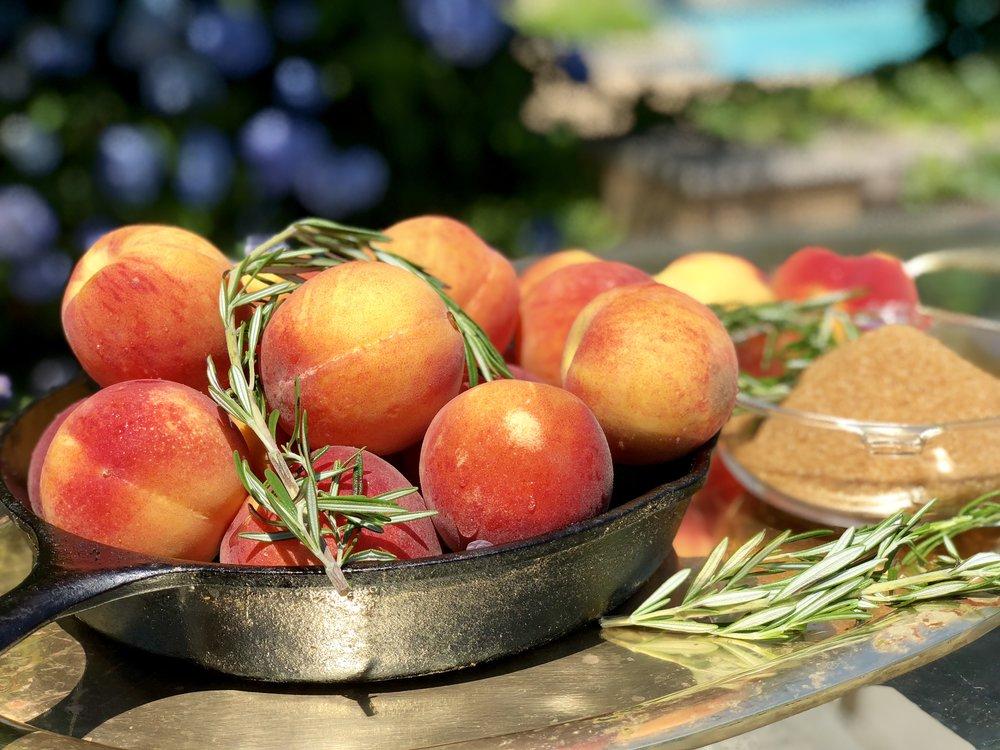 Oklahoma peaches