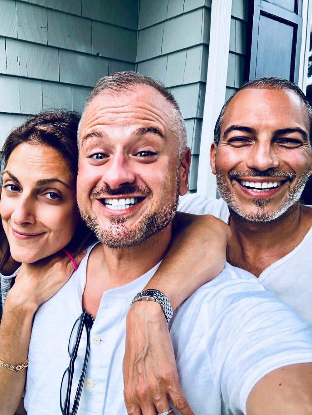 My two wonderful cousins, Lili and Ali,Bridgehampton, New York July 22, 2018