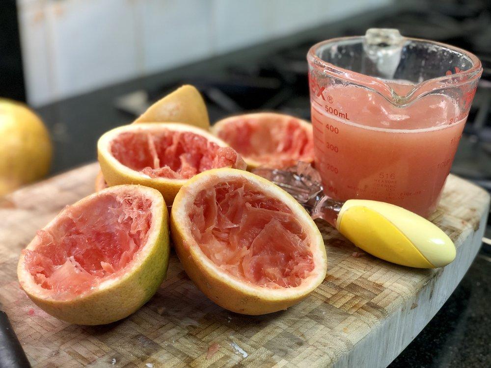 Freshly squeezed juice!