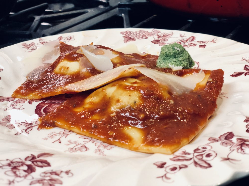 Your ravioli game is strong!
