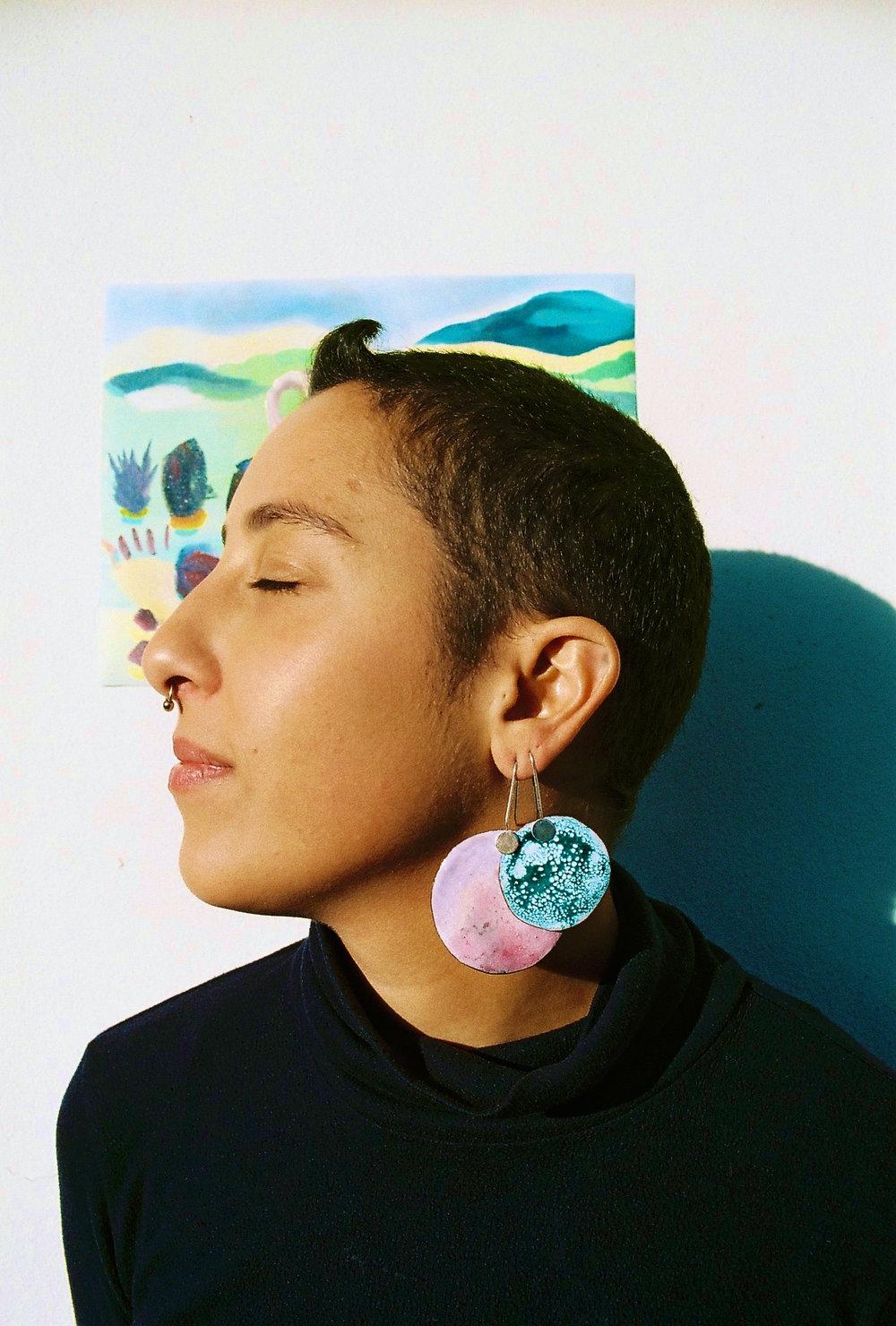 pink-green-imaginary-planets-ada-hodgson-contemporary-australian-jewellery-designer-jeweller-design-handmade-mebourne-made-custom-colourful-enamel-sterling-silver-gold-jewelry-statement-ring-earrings