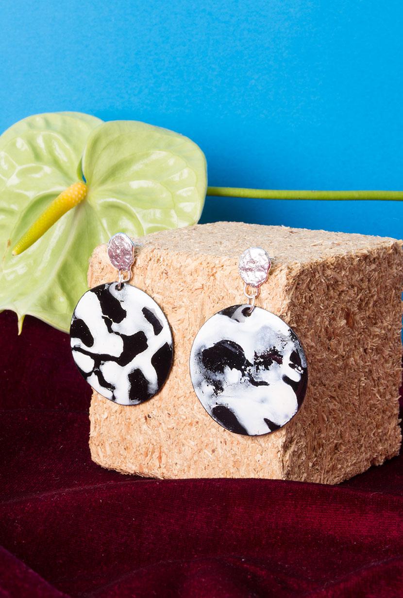 Statement earrings handmade in Melbourne