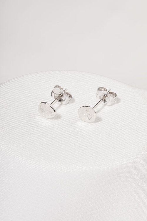 d718a0b4b River Rock Stud Earrings, Sterling Silver