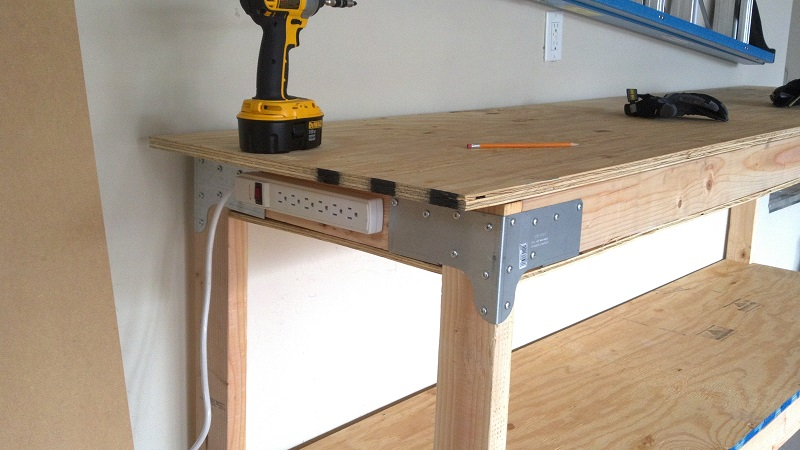 DIY workbench — With Both Hands