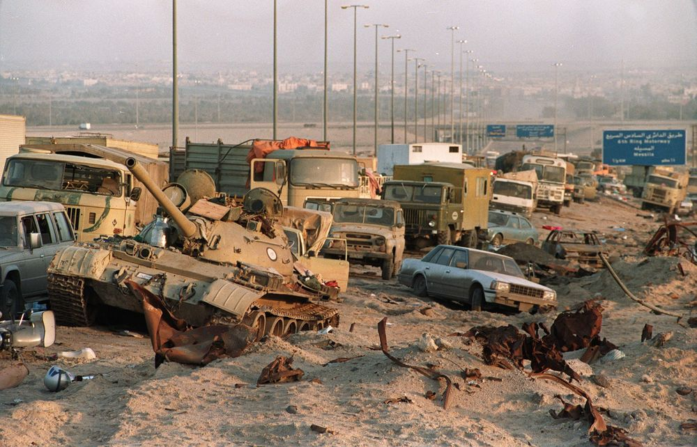 The Highway of Death, Iraq 1991
