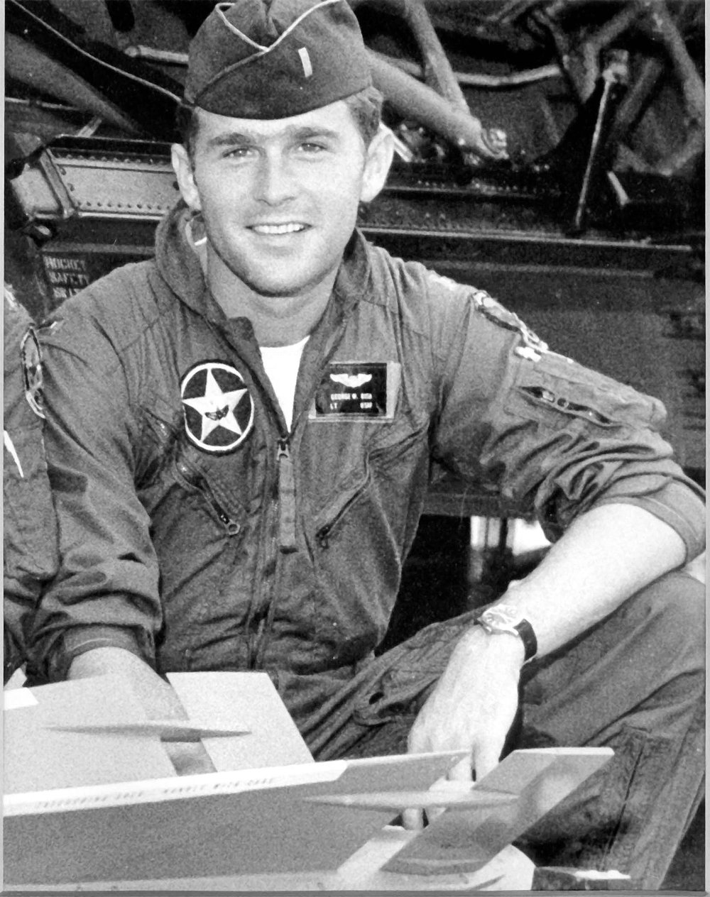 Lt. George W. Bush, Texas Air National Guard