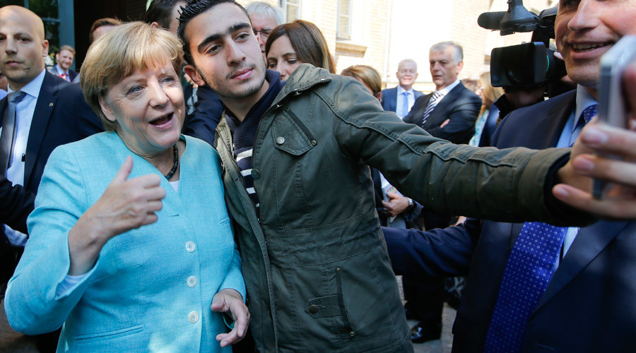 Merkel's Boner