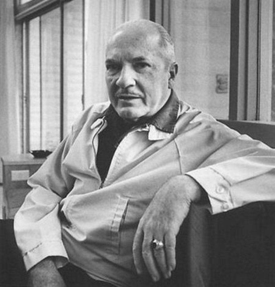 Robert Heinlein, dean of American science fiction