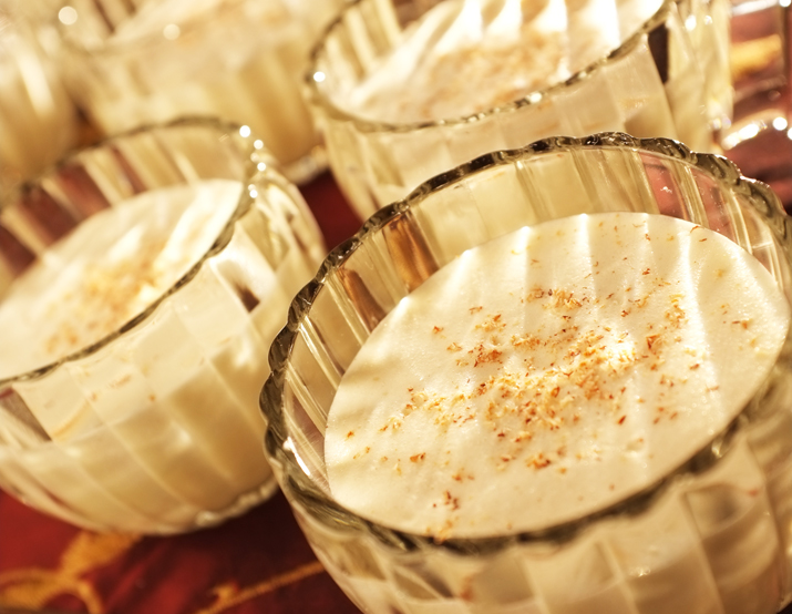 Alton Brown's aged eggnog