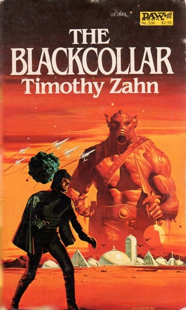 I love the delightfully cheesy style of scifi covers