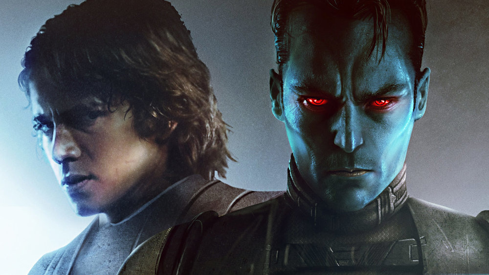 Thrawn: Alliances alternate cover  I hope they blend the eyes on that actor a little better for the final version