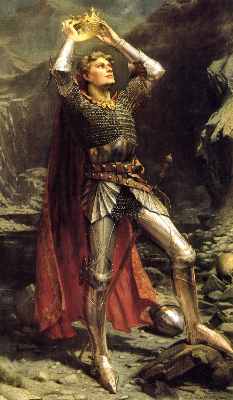 King Arthur – Charles Ernest Butler [Public domain], via Wikimedia Commons