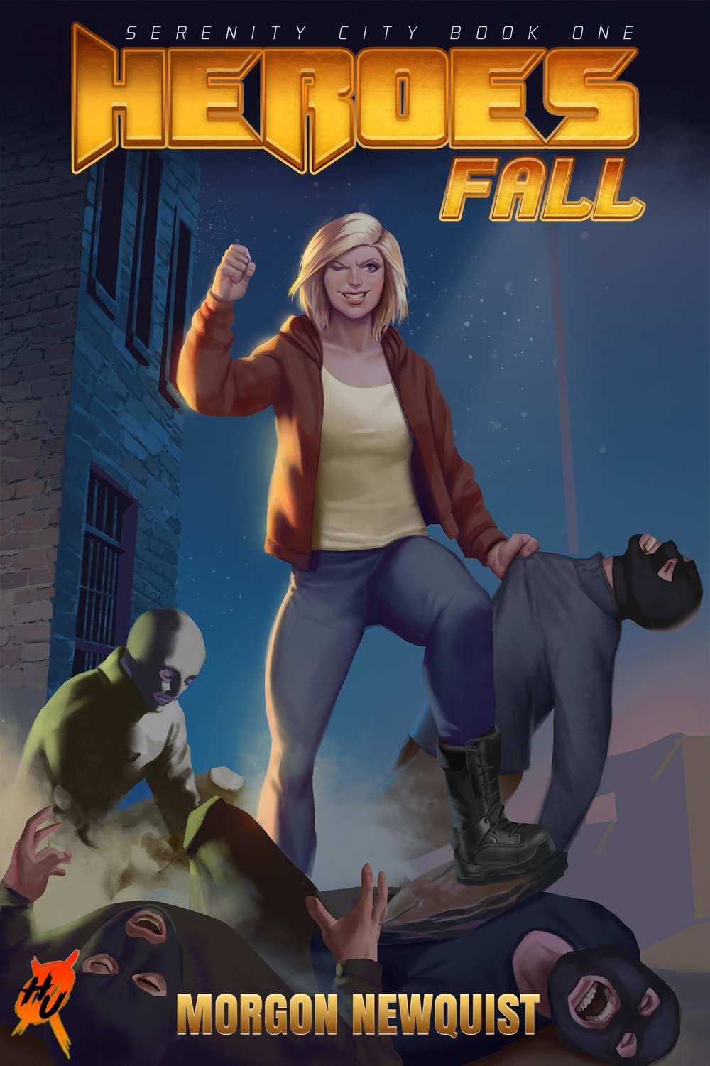 "This cover shot of Victoria makes me think there must be a "" Boyfriends of Serenity City "" Instagram account that pokes fun at the guy who took the picture when Victoria posed after beating all those guys up.  Cover art by Kasia Suplecka and Steve Beaulieu"