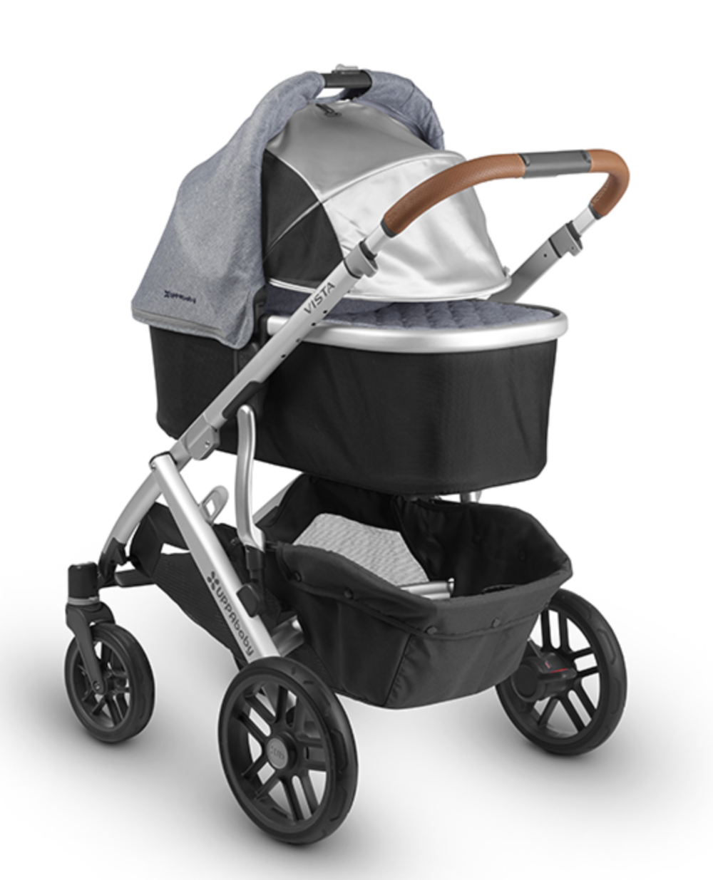 'Henry' colorway w/bassinet and new flex-UPF 50 sunshade