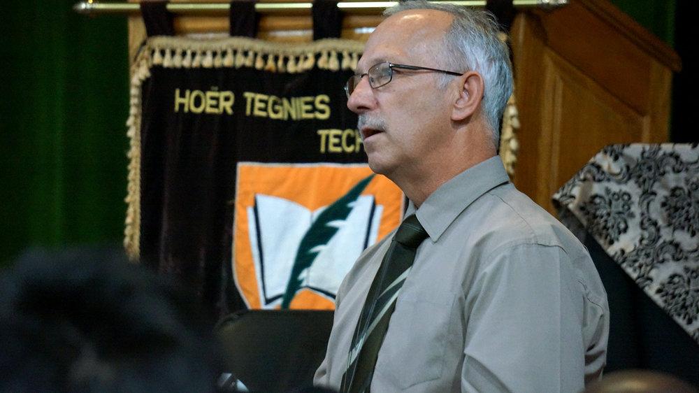 Principal Stephen Pitts