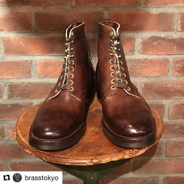 Re-Stock inbound!!!!!!! @brasstokyo #clinch #clinchboots #skomakerdagestad #brasstokyo #norway #oslo #boots #handmade #madeinjapan