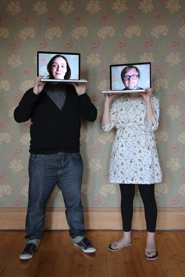 Paola and Calum, Graphic Designers, Edinburgh