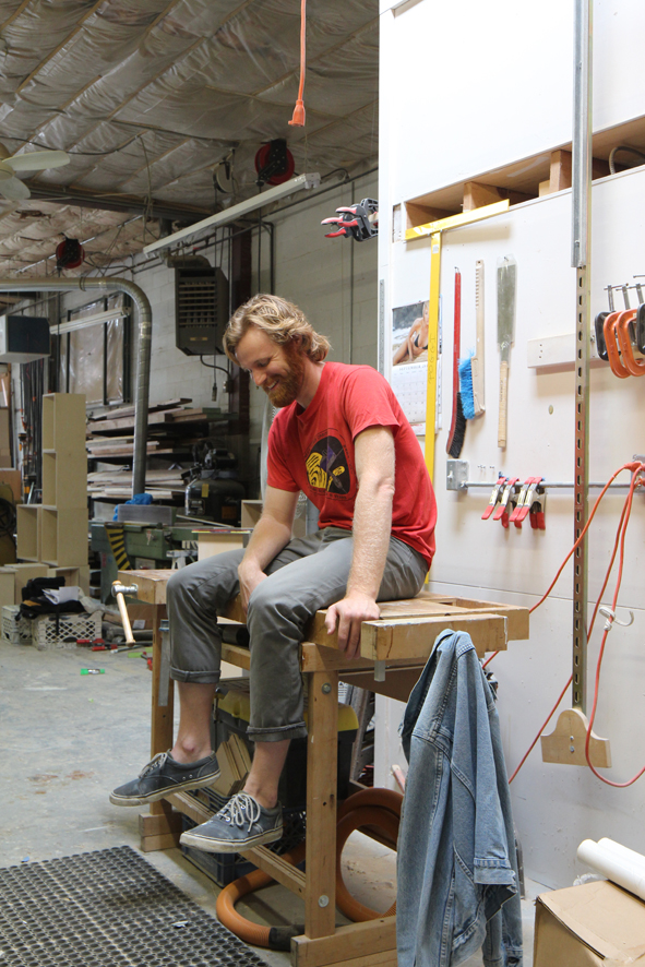 Paul, Woodworker, Brooklyn NY