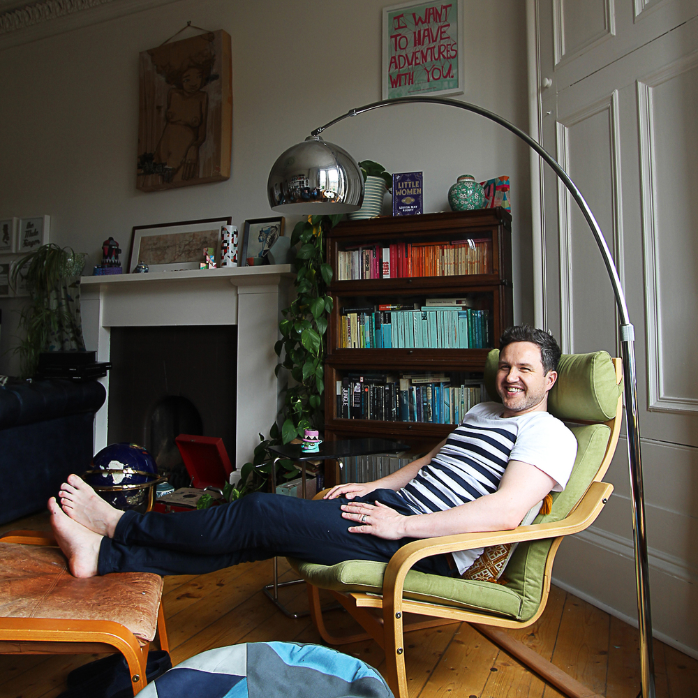 Alan Bissett, novelist, playwright, performer