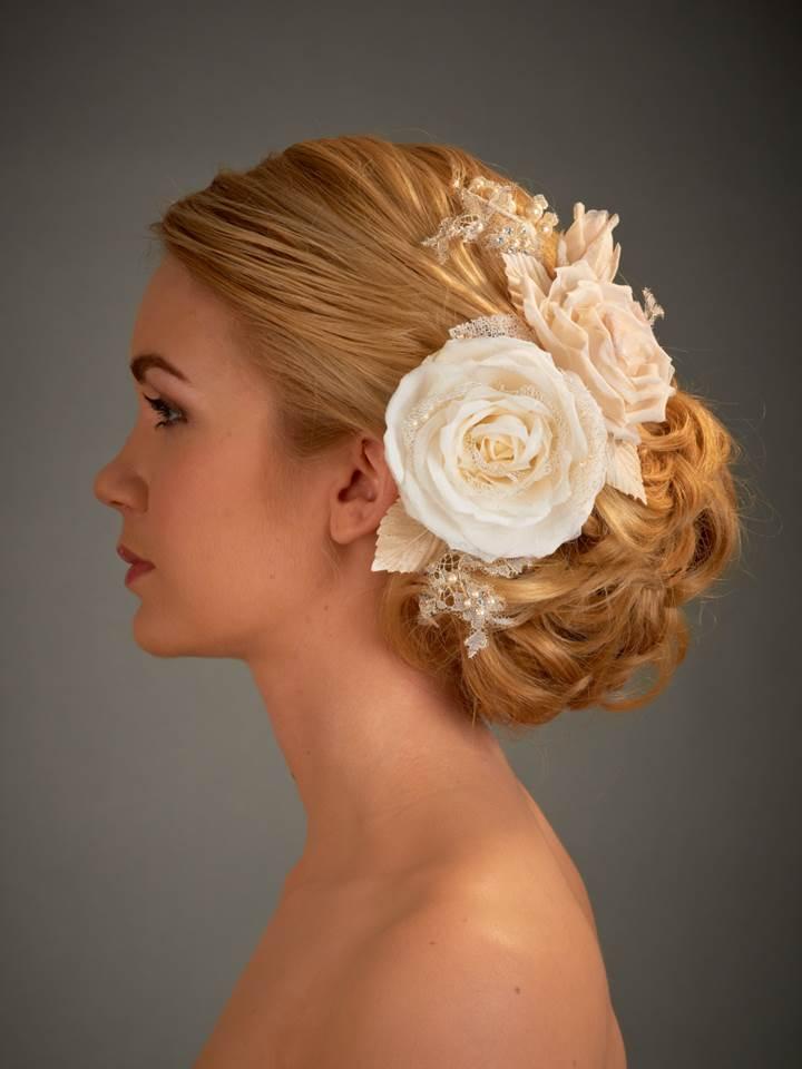 Classic bridal bun