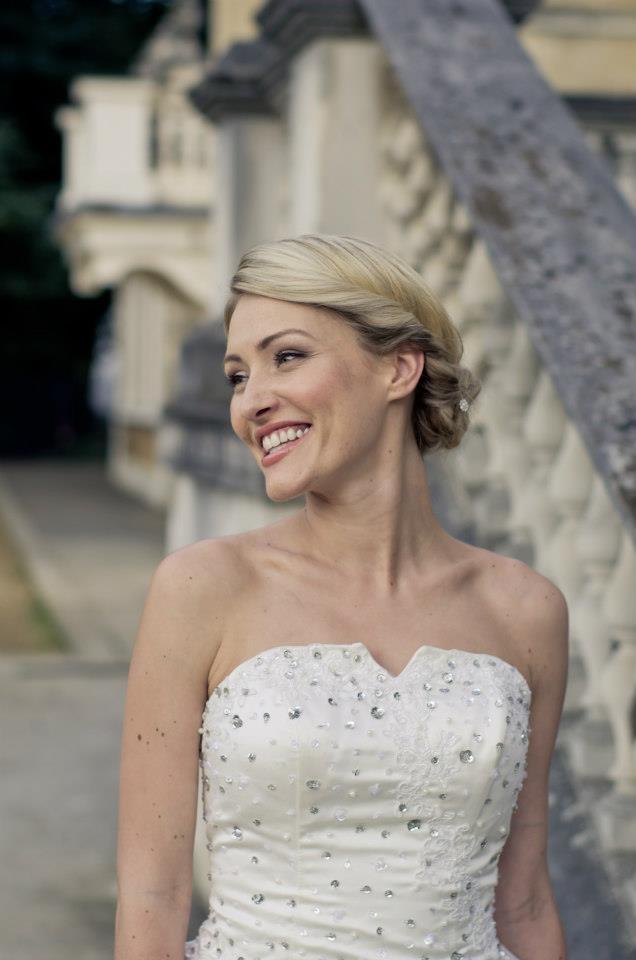 Glowing bride