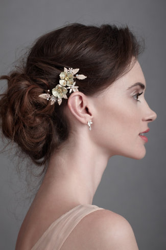 BHLDN hair accessory: Wild Rose Comb
