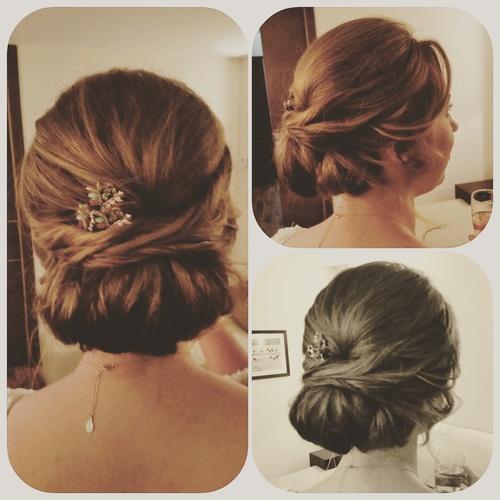 Wedding Hair Relaxed Chignon