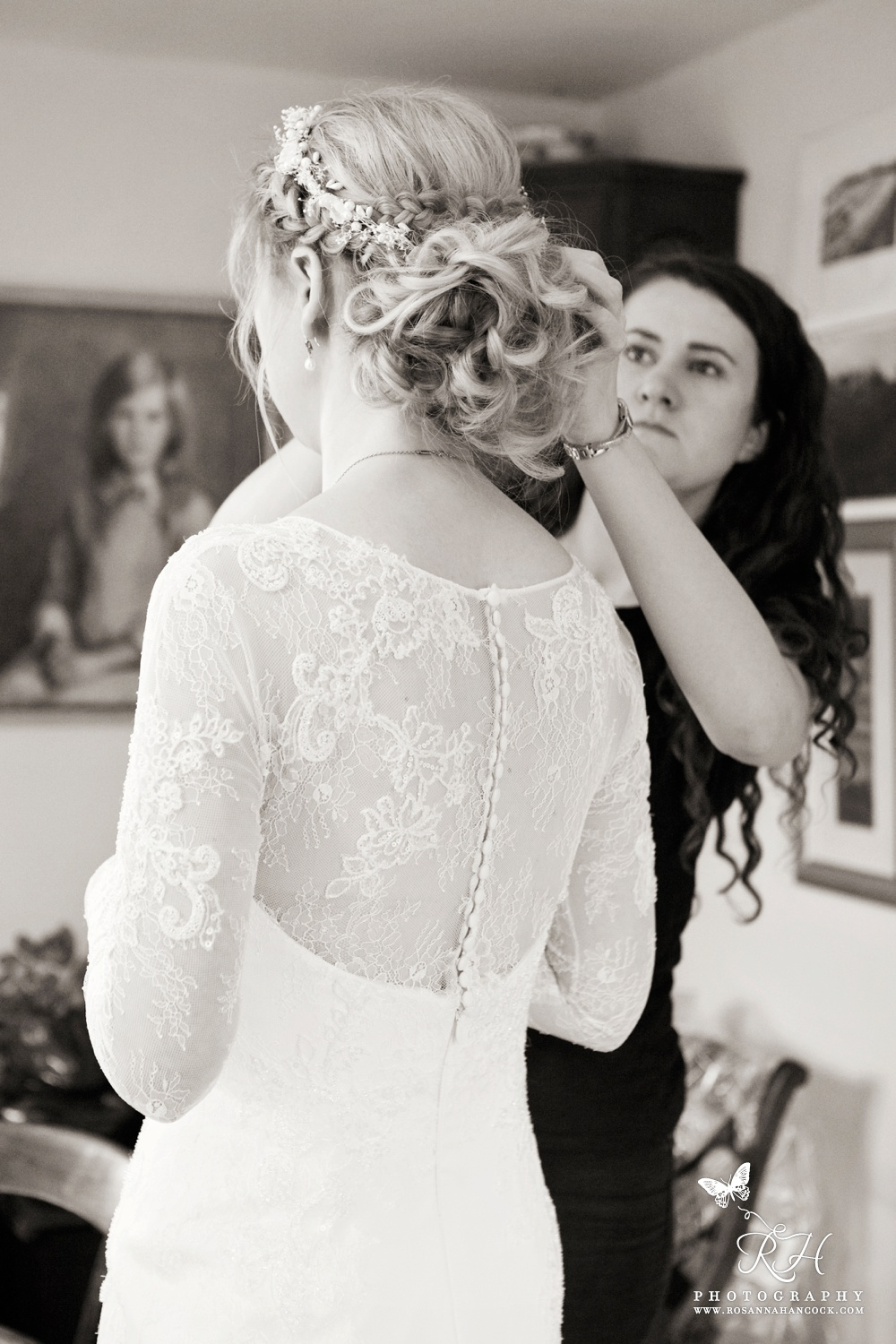 Bridal hair and make up Hertfordshire