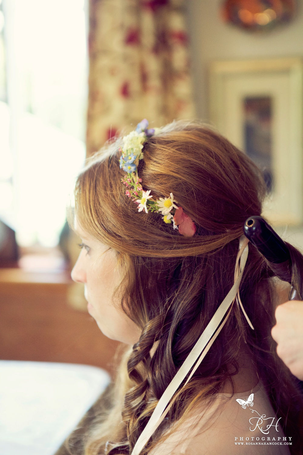 Wedding hair bridesmaids