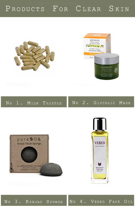 Products for Clear Skin