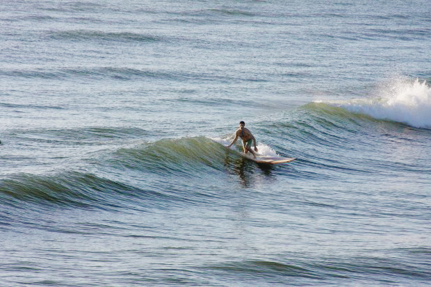 Surfing Jacksonville Beach