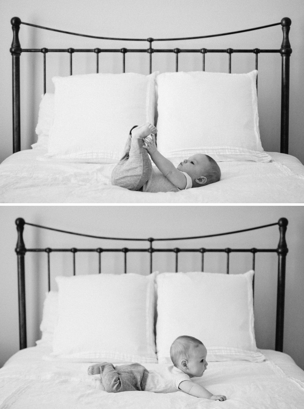 Black and White Newborn Photography Jacksonville