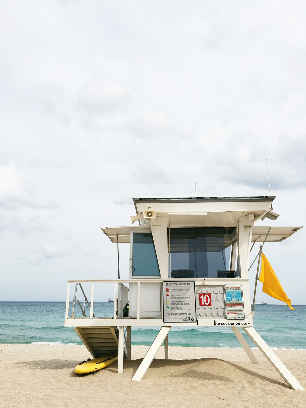 Lifeguard Station Fort Lauderdale Beach Florida