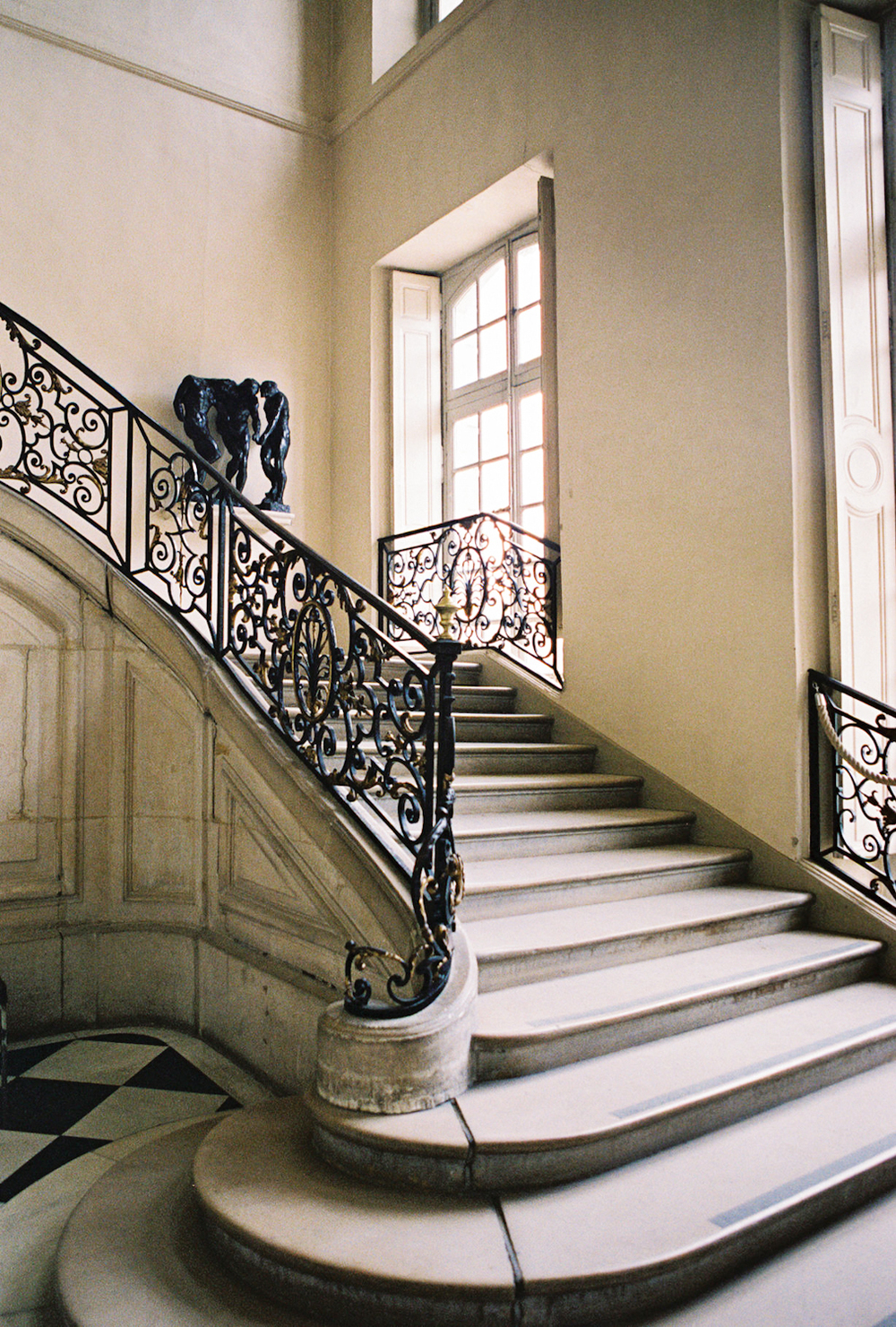 staircase musee rodin