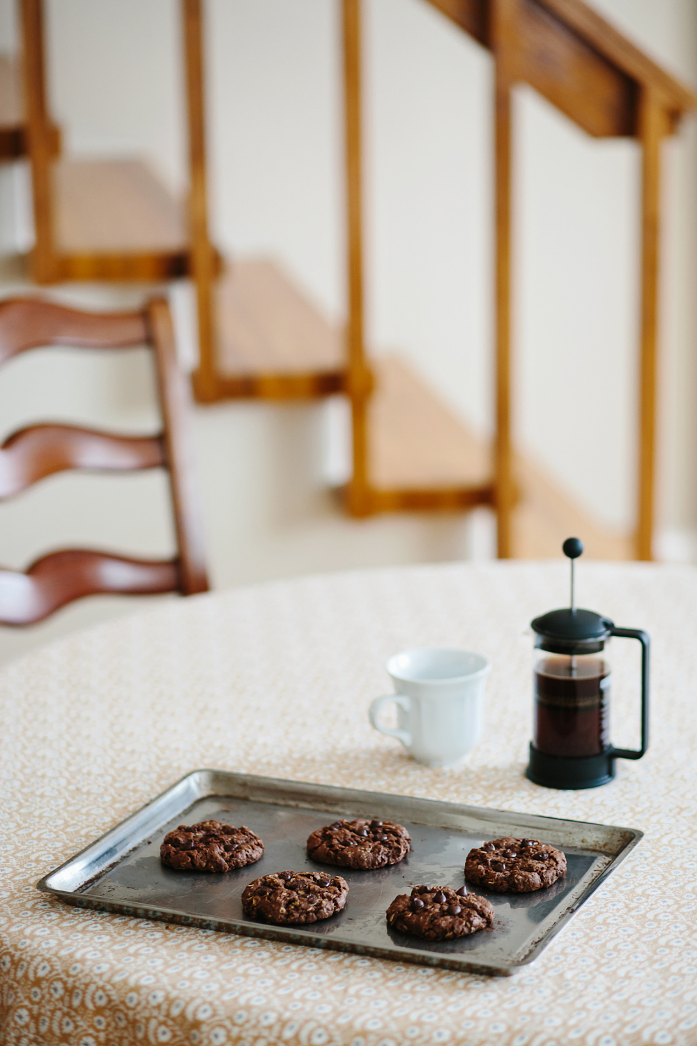Teasim Chocolate Salty Oat Cookie Recipe