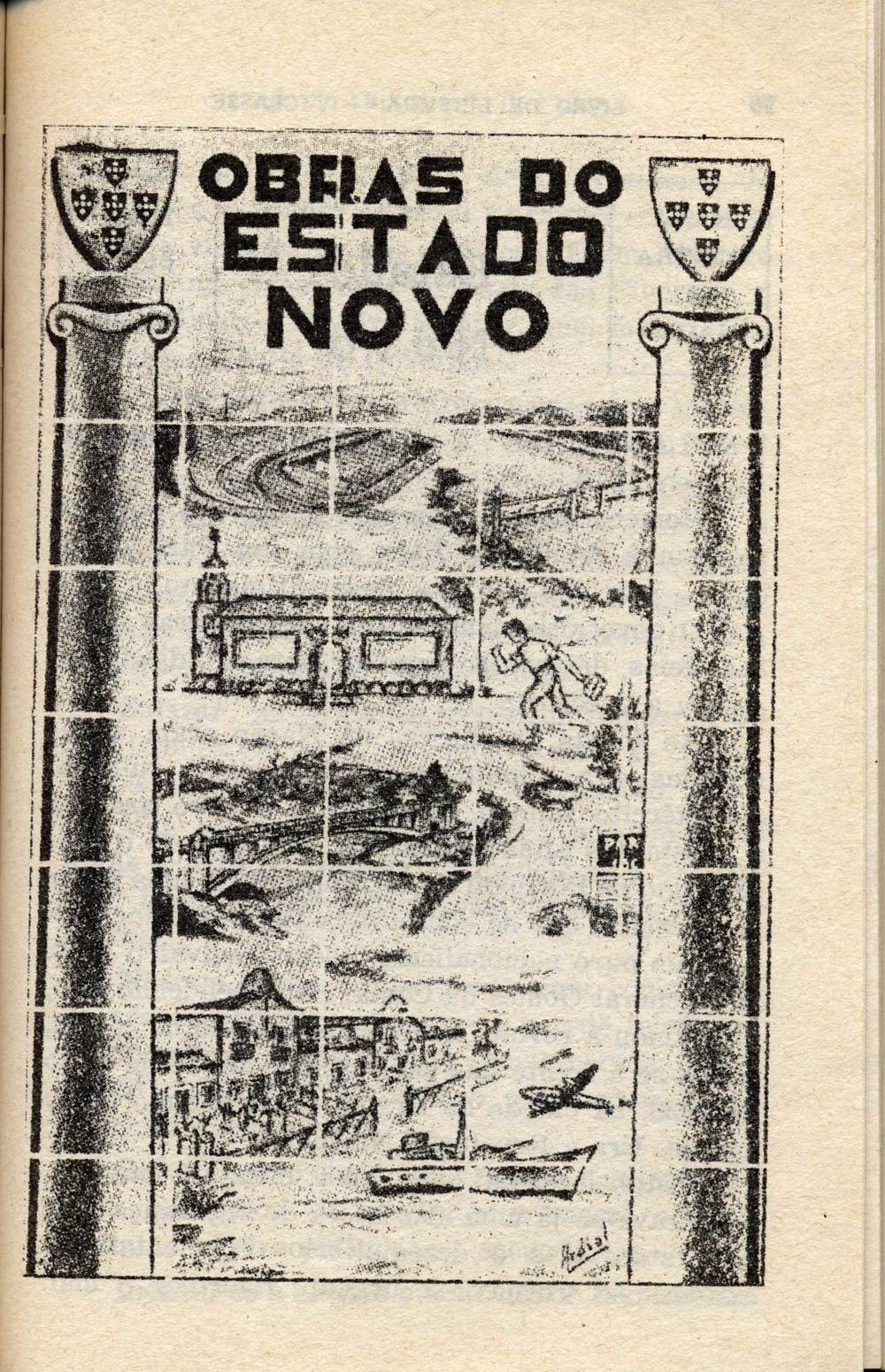 """Obras do Estado Novo""   (""Building the New State"")"
