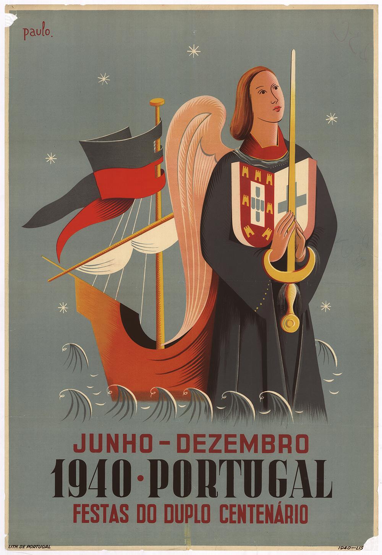 Junho-Dezembro, 1940 Portugal, Festas do Duplo Centenario