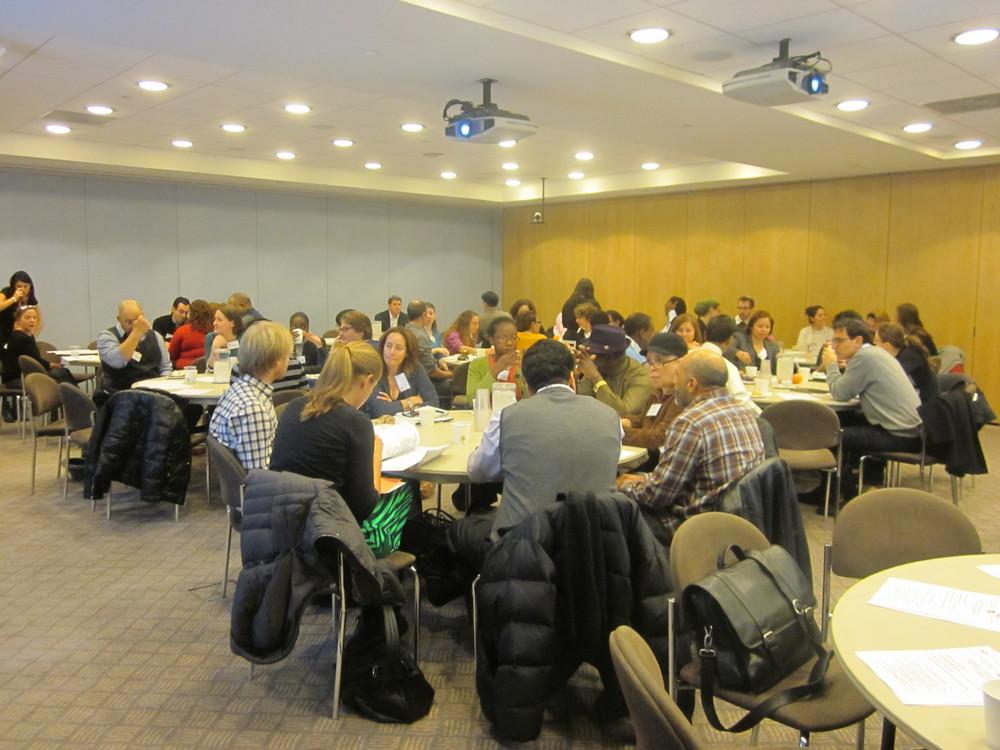 Changing Demographics of NYC Seminar 12.19.12