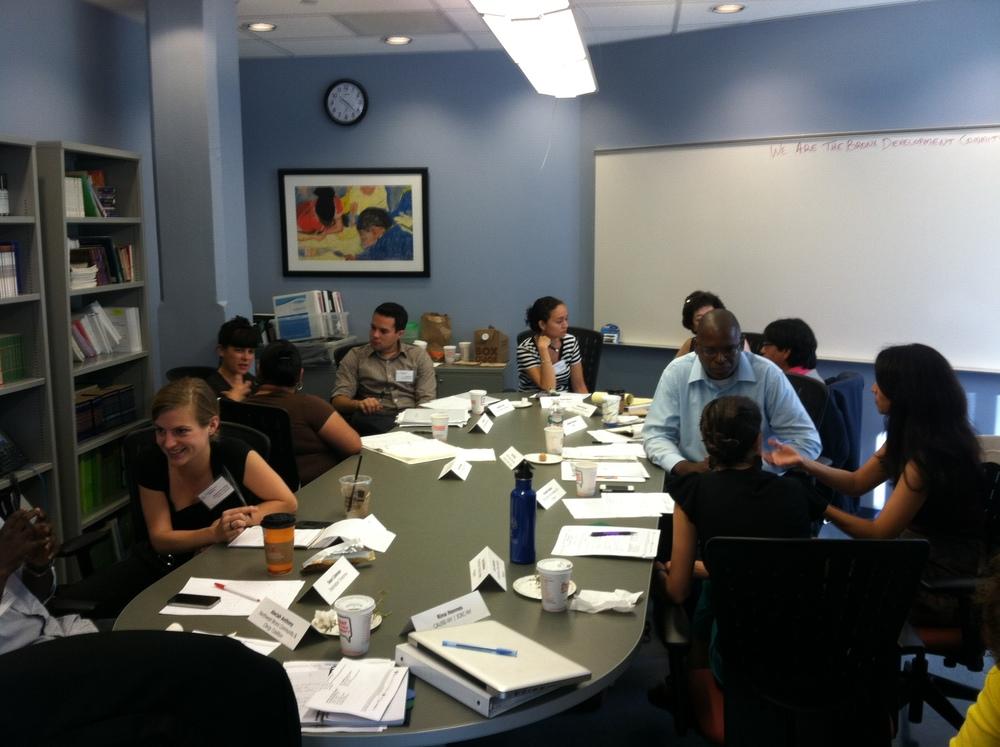WATB 2013-2014 Development Committee Meeting 10.3.13