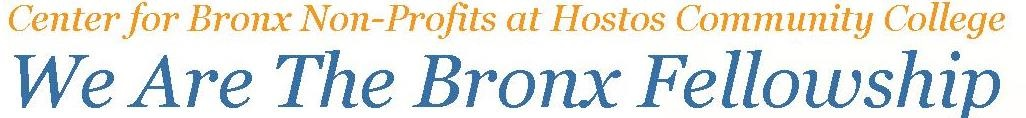 We Are The Bronx Fellowship