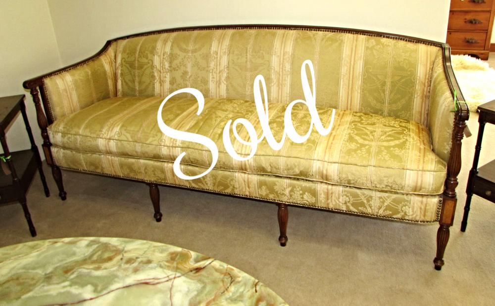 Vintage Hickory Chair Company Sheraton Sofa Mpn 1840 00