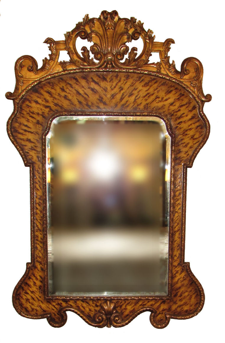 SOLD Theodore Alexander Hand Carved Mirror S102-011