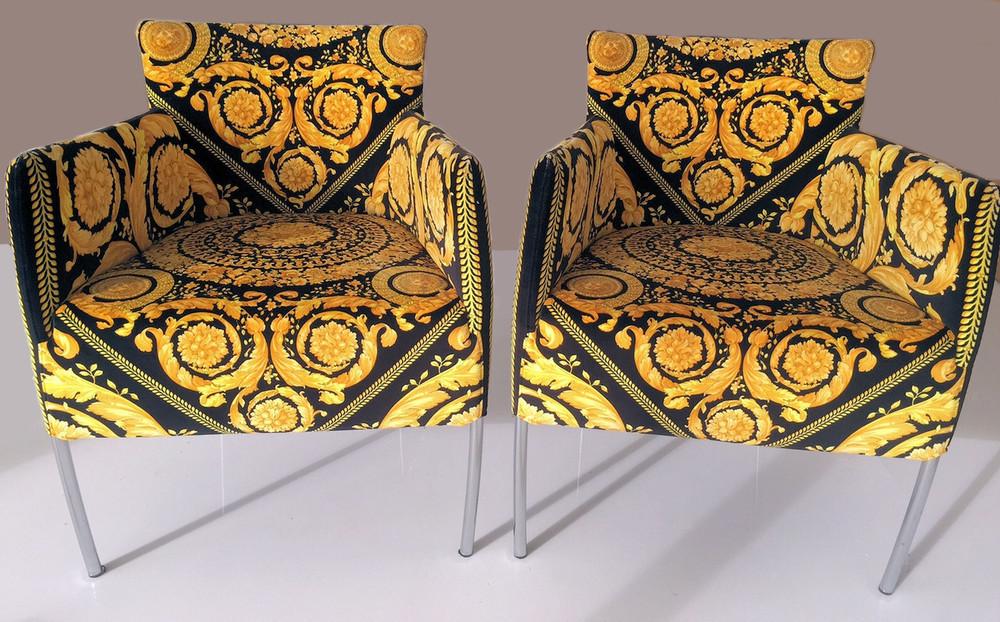 Versace Armchairs