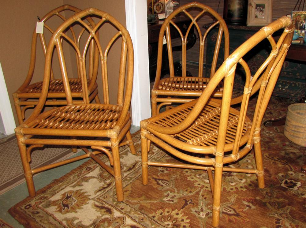 Vintage McGuire Chairs
